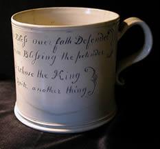 Jacobite ceramic mug