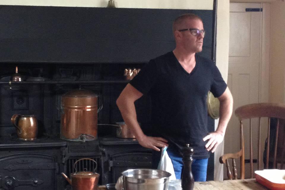 Heston Blumenthal in the Victorian Kitchen 2013