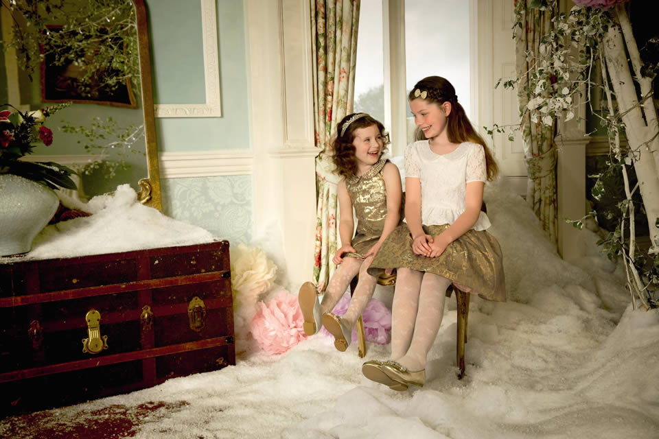 Monsoon Childrenswear 2013:2014 (the White Rose Drawing Room)