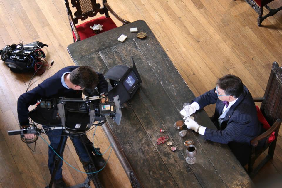 Tim Wonnacott, BBC Bargain Hunt in the Great Hall