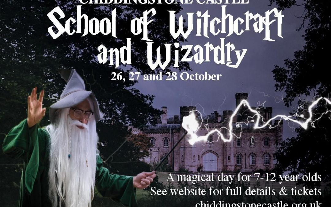 Witches and Wizards at Chiddingstone Castle!
