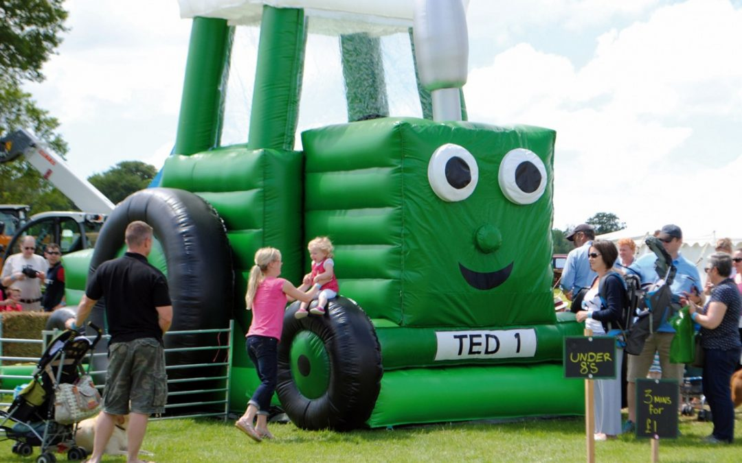 Tractor Ted at Chiddingstone Castle Country Fair!