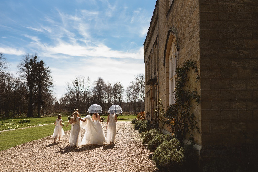Chiddingstone Castle Weddings - Laura and David 1