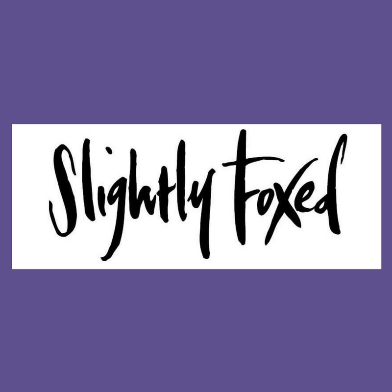 Slightly Foxed and Chiddingstone Castle Literary Festival 2018