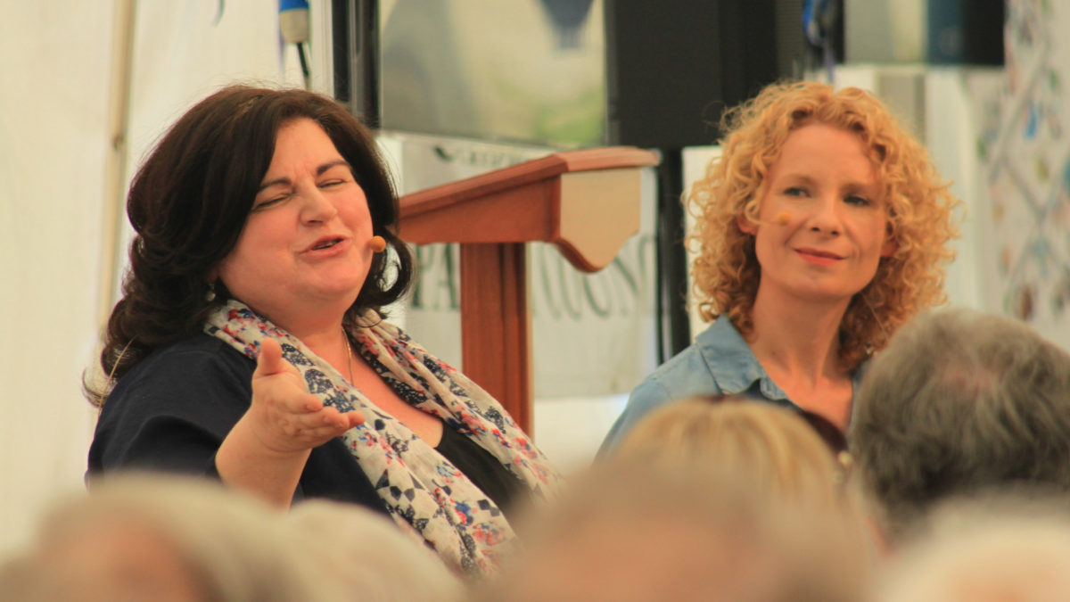 Diana Henry at Chiddingstone Castle Literary Festival