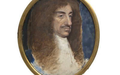 Unfinished Portrait of Charles II