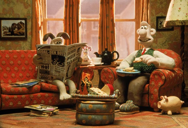 Wallace and Gromit Film Screenings All Day / Drop In