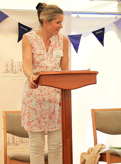 Rachel Sellers Reads the Winners of the Short Story Competition