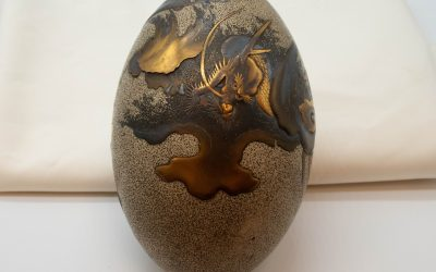 Japanese Lacquered Egg