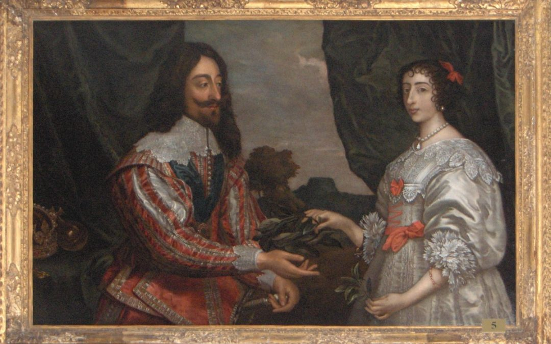 Portrait of Charles I and Henrietta Maria