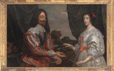 Portrait of Charles I and Henrietta Maria