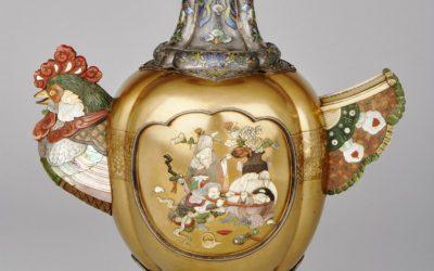 Cockerel vase